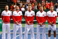 Sélection nationale Suisse tennis Coupe Davis Federer Wawrinka